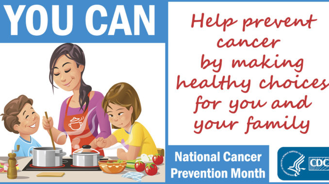 National Cancer Control Month Free Resources April 2018